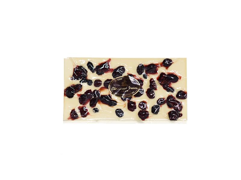 Lloseta xocolata blanca i fruits del bosc