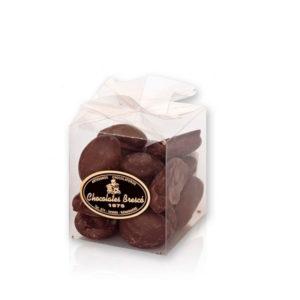 Albaricoque con chocolate negro