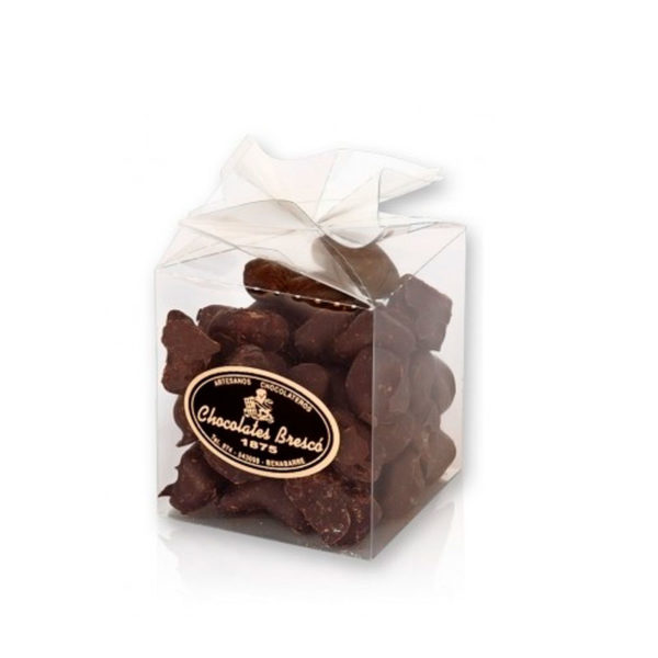 Jengibre recubierto de chocolate negro 70%