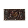 Black chocolate tablet with forest fruit 70% 150g